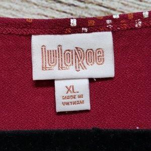 LuLaRoe Tops - Lularoe XL Irma NWT Elegant collection